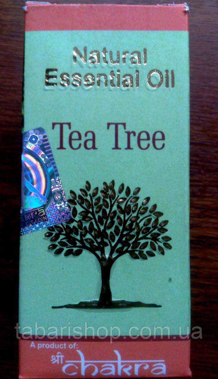Эфирное масло Зелёный чай, Essential Oil Tea Tree, 10мл