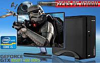 Игровой Мега Монстр ПК ZEVS PC11700U i5 7400 + GTX 1050TI 4GB +8GB DDR4 +ИГРЫ Клавиатура +Мышка!