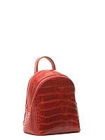 Кожаная сумка-рюкзак на плечо маленькая в 4х цветах 15566A