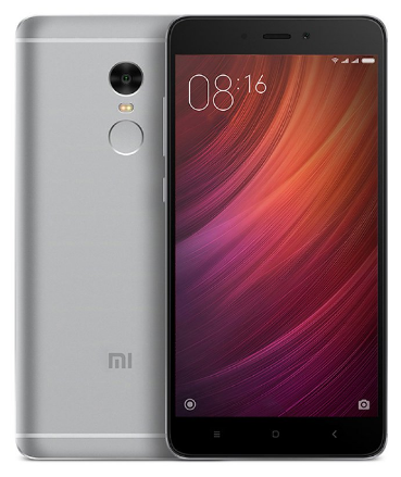 "Смартфон Xiaomi Redmi Note 4 Global 4/64Gb Grey, Snapdragon 625, 8 ядер, 13/5Мп, 5.5"", 2Sim, 4100мА"