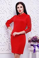 Женское красное платье НИНА Lenida 42-50 размеры