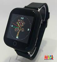 Детские умные часы- телефон с GPS трекером Smart Baby Watch Q150 Черный