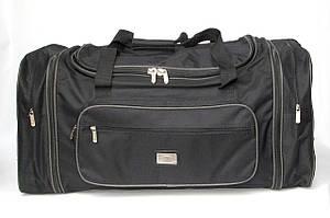 Дорожная сумка большого размера с боковыми карманами (70+10 см)