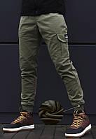 Зимние мужские штаны карго beZet - khaki '17