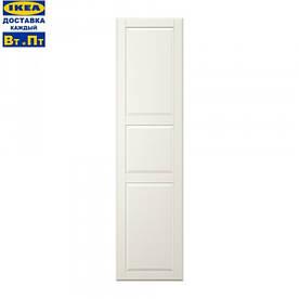 IKEA, TYSSEDAL, Дверь с петлями, белая (49090235)(490.902.35) ТИСЕДАЛ, ТИССЕДАЛ, ТІСЕДАЛ, ИКЕА, ІКЕА, АЙКИА