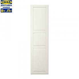 IKEA, TYSSEDAL, Дверь с петлями, белая (39090250)(390.902.50) ТИСЕДАЛ, ТИССЕДАЛ, ТІСЕДАЛ, ИКЕА, ІКЕА, АЙКИА