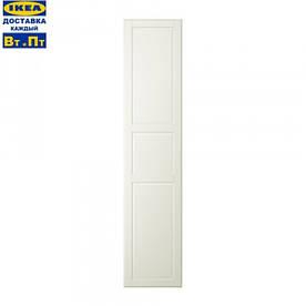 IKEA, TYSSEDAL, Дверь с петлями, белая (19090251)(190.902.51) ТИСЕДАЛ, ТИССЕДАЛ, ТІСЕДАЛ, ИКЕА, ІКЕА, АЙКИА
