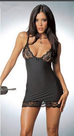 Женская ночная сорочка. Полоска- 311-141, фото 2