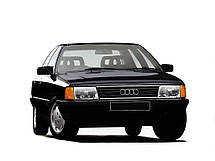 Лобовое стекло Audi 100 1982-1991