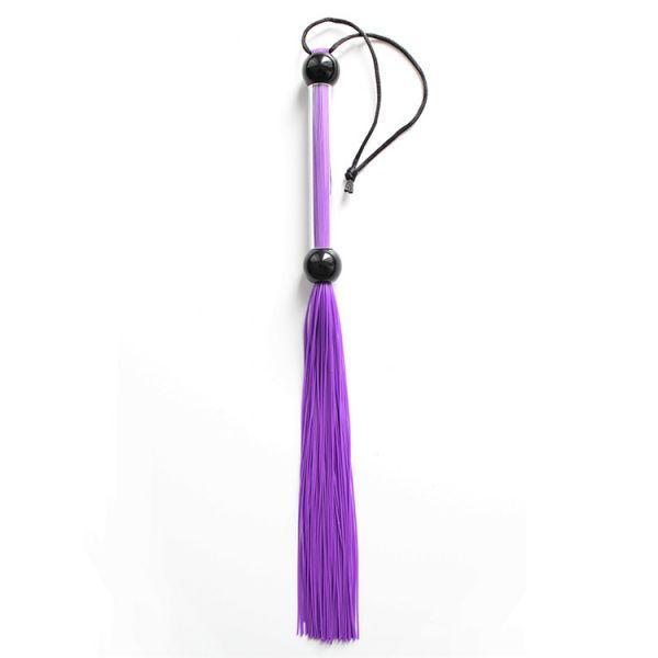 Небольшая резиновая  плеть фиолетовая - Интернет магазин интим товаров X-TOYS в Киеве