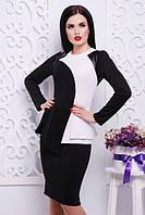 Трикотажное платье ШЕДЕВР Lenida 42-50 размеры
