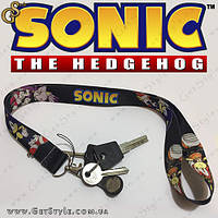 "Ремешок для ключей Соник - ""Sonic Lanyard"""
