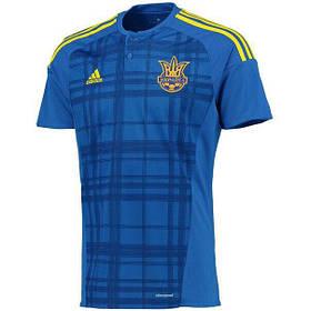Футбольная форма Ukraine / Украина, синяя футболка, желтые шорты