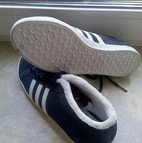 Кроссовки на меху Adidas Adria PS 3s Mid W, фото 2