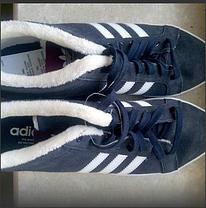 Кроссовки на меху Adidas Adria PS 3s Mid W, фото 3