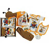 Подарочный набор  для новорожденного, 7 предметов (11689)