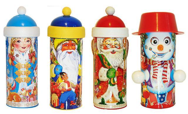 Новогодняя упаковка для конфет и подарков