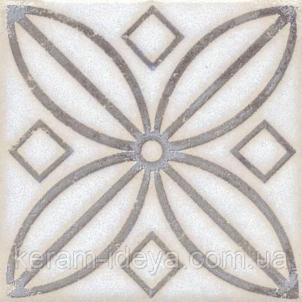 Вставка Kerama Marazzi Неаполитанская Амальфи STG\A402\1266 орнамент коричневый 9,9х9,9, фото 2