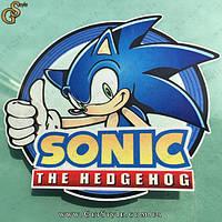 "Наклейка Соник - ""Sonic the Hedgehog"""