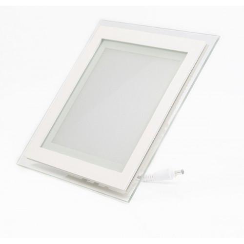 LED панель Lemanso 18W 1260LM 4500K квадрат/ LM437 + стекло