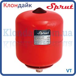 Расширительный бак отопления Sprut VT 4