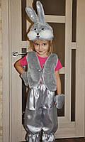 Заяц , зайчик карнавальный костюм  новогодний, фото 1