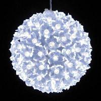 Светящийся шар подвеска 50 led. диаметр 11см. Гирлянда