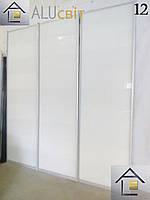 Двери купе раздвижные (межкомнатные перегородки, гардеробные) лакобель