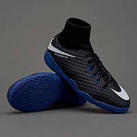 Детские Футзалки Nike HypervenomX Phelon III DF IC Junior 917774-002