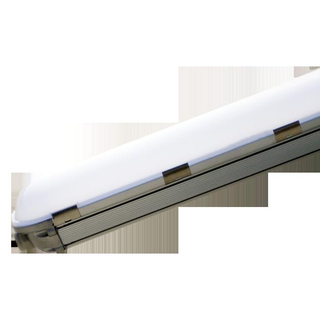"""Світлодіодний лінійний світильник MAXUS LED 1,2 м 40W 5000K """"Aluminium"""""""