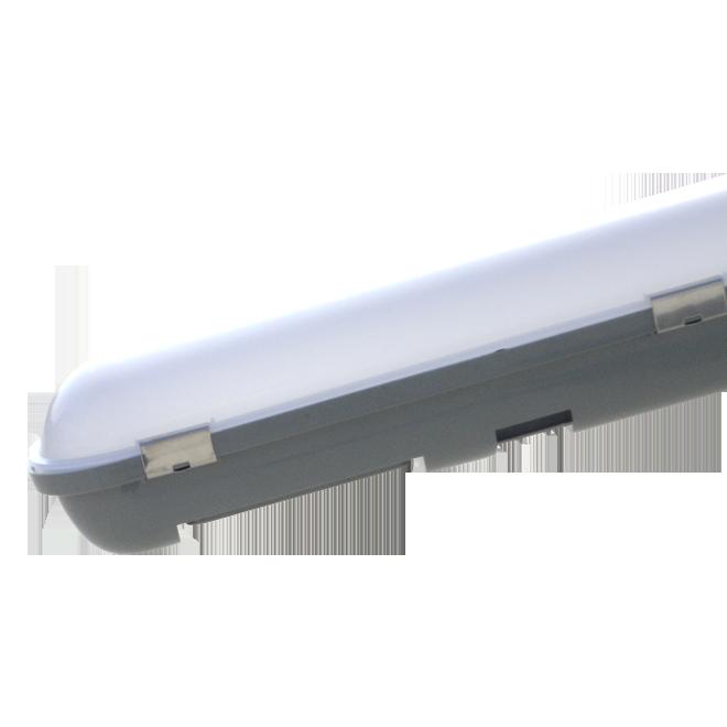 """Світлодіодний лінійний світильник MAXUS LED 1,2 м 40W 5000K """"Plastic"""" (LN-236-PL-03)"""