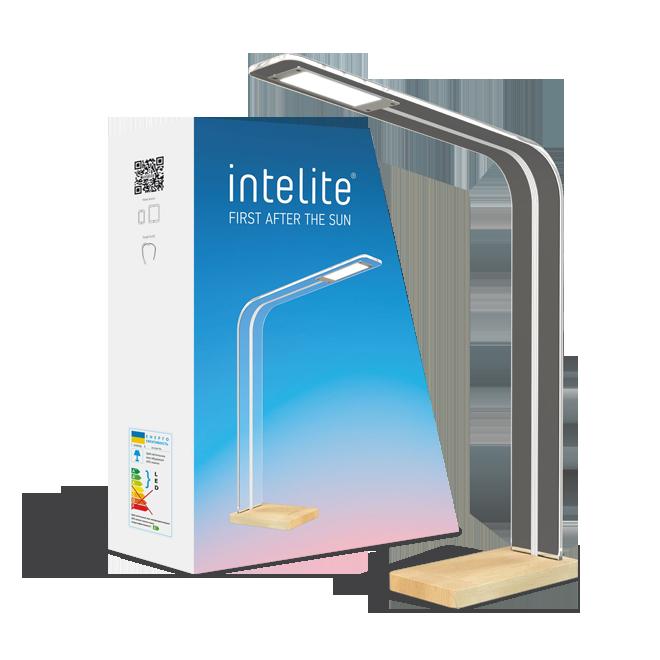 Настільний LED світильник Intelite Desklamp GLASS 8W (DL5-8W-TRL)
