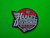 "НАШИВКА HARLEY-DAVIDSON ""BUILT TO LAST"" - велика вишита нашивка"