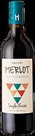 Вино красное, сухое Merlot Pays d'Oc 2016