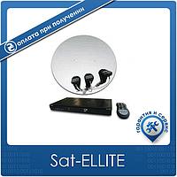 Комплект на 3 спутника для 4-х ТВ Базовый HD Эконом-4