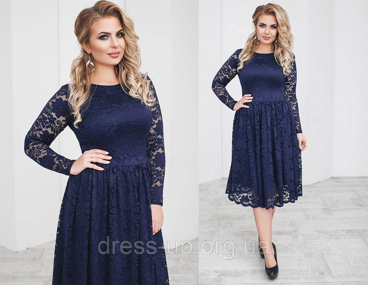 2b04b5019eb615d Нарядное женское гипюровое платье зеленое (6 цветов) ТК/-02068, цена 797,50  грн., купить в Одессе — Prom.ua (ID#610181213)