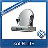 Комплект на 1 спутник для 2-х ТВ Дачный HD Эконом-2