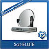 Комплект на 1 спутник для 3-х ТВ Дачный HD Эконом-3