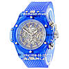 Часы Hublot Big Bang Quartz Unico Sapphire Blue. Реплика