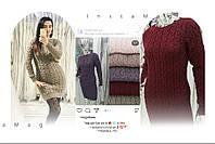 Топ продаж!  женское вязаное платье из натуральной шерсти!