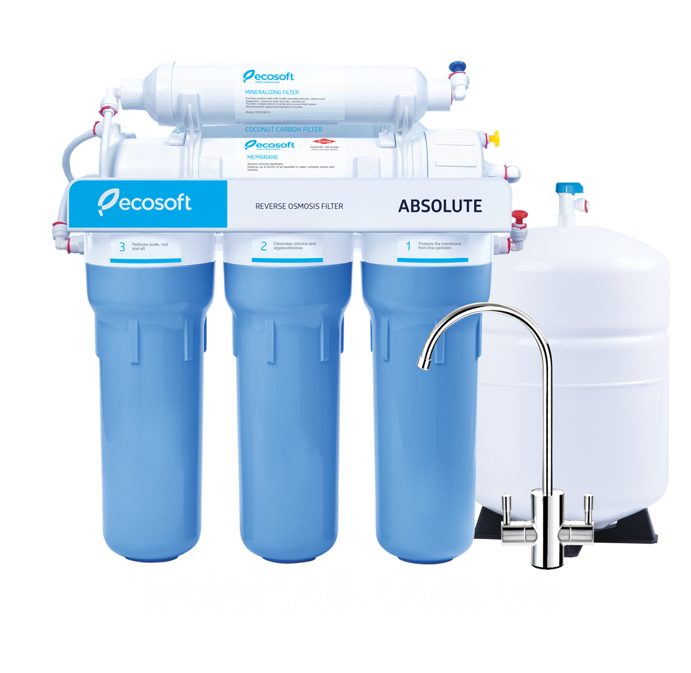 Система очистки воды Ecosoft Absolute 6-50 с минерализатором