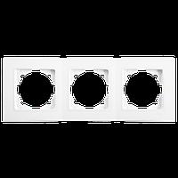 3-я рамка горизонтальная VIKO Linnera белый