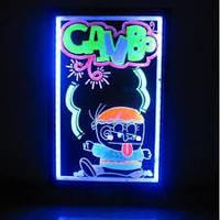 Led доска, Flash панель 40 x 60 см, рекламные доски, световая панель,