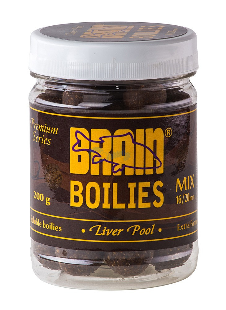 Бойлы Brain Liverpool (Печень) Soluble 200 gr