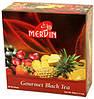 Черный фруктовый чай Gourmet, Mervin, 1.5г х 60