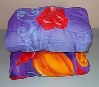 Одеяло двухспальное мех овчины , ткань полиэсте, фото 1