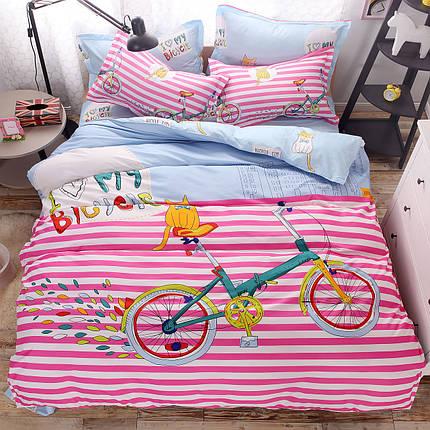 Комплект постельного белья Bike (полуторный) , фото 2