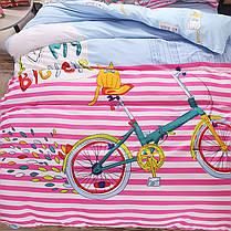 Комплект постельного белья Bike (полуторный) , фото 3
