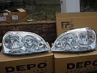 Фара левая Chevrolet Lacetti (шевроле лачетти) 2003-2013. пр-во Depo