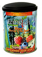 """Черный чай """"Благословенные лесные ягоды"""", FemRich, 75г"""